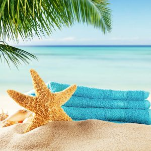 מחצלות / מגבות חוף